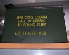 M2A1 Ammo Can Military Surplus 5.56mm