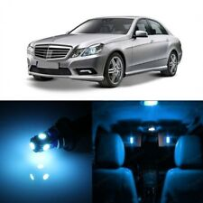 19 x Ice Blue LED Interior Light Kit For 2010 -2013 Mercedes E Class W212 +TOOL