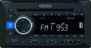 Jensen JWM452 2-Speaker Zones AM/FM|DVD|BT|AUX|USB Bluetooth Wall Mount Stereo R