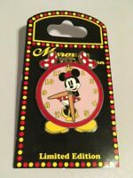 WDW - Marquee - Alarm Clock - Minnie Mouse Pin 69735