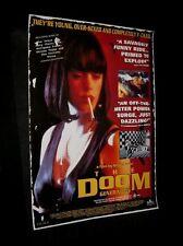 Original Australian DOOM GENERATION O/S Mega Rare ROSE MCGOWAN Gregg Araki