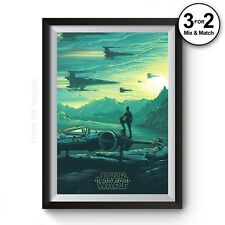 The Force Awakens Movie Poster, Star Wars Film Posters, Giclee Wall Art Print