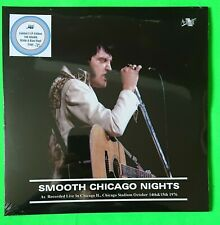 ELVIS PRESLEY - SMOOTH CHICAGO NIGHTS WHITE /BLUE VINYL/CD SET