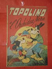 ALBO ORO N° 104 -lg-originale 1948-DISNEY MONDADORI-topolino e orchidea nera