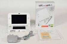 new Nintendo 3DS XL Perlmuttweiß / weiß,OVP,Top Zustand