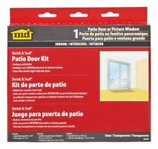 M-D Building Products  Clear  Patio Door Insulator Kit  84in W x 110in L .75 mil