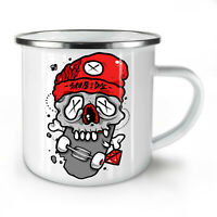 Dead Skull NEW Enamel Tea Mug 10 oz | Wellcoda