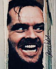 JACK NICHOLSON 8x10 SIGNED preprint PHOTO PICTURE PIC THE SHINING HERE'S JOHNNY