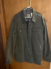 NWT TOMMY BAHAMA MEN'S SHIRT JACKET XXL FOG GRAY RETAIL $225