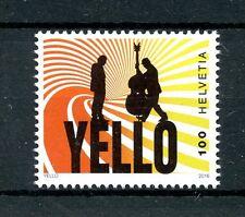 Switzerland 2016 MNH Yello 1v Set Music Stamps