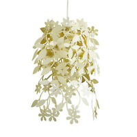Modern Cream Shabby Chic Style Ceiling Light Pendant Shade Chandelier Lampshade
