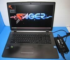 "SAGER 17.3"" GAMING LAPTOP NOTEBOOK Intel i7-4700 GTX 765M 2.4GHz 4GB 250GB"