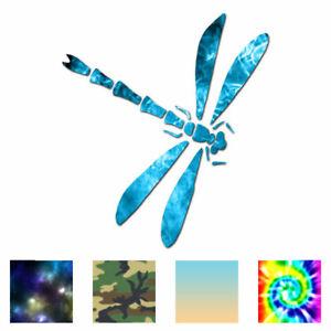 Dragonfly Tribal - Vinyl Decal Sticker - Multiple Patterns & Sizes - ebn236