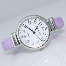 Girls Women's Gifts Bracelet Number Face Metal Bangle Quartz Cuff Watch D13