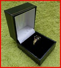 Jewellery Presentation Box, Ring Single, Leatherette Range, Gift, Weddings, New