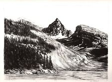 Canadian Rockies - Limited Edition Lithograph - 9/20 - 1984