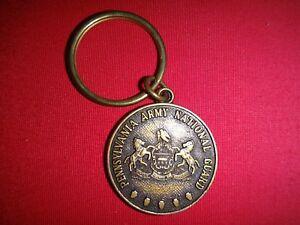 PENNSYLVANIA ARMY NATIONAL GUARD Recruiting & Retention Keychain Key Ring