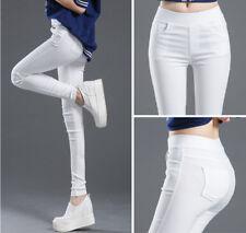 Mode Femme Extensibl Skinny Jegging Crayon Taille Haute Pantalon Slim Legging NF