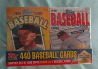 1996 TOPPS BASEBALL CEREAL BOX SET With Mickey MANTLE, Set 2 ABCD