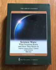 Great Courses Science Wars Parts 1 & 2 * 4 DVD s + Guidebook * New Sealed