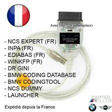 BMW INPA NCS EXPERT FRANCAIS AVEC CABLE OBD K+DCAN