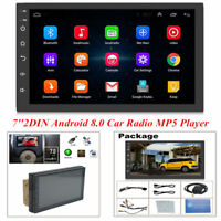 7'' Android 8.0 Car Radio GPS Navigation Audio Stereo Multimedia MP5 Player