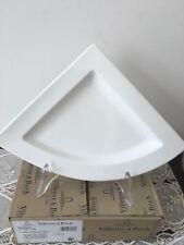 Villeroy & Boch Newwave set 4 pezzi piatti triangolari porcellana