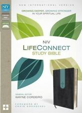 Niv Life Connect Study Bible :) Growing Deeper & Stronger: Thumb Index - In Box