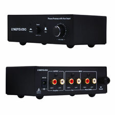 Turntable Phono Preamp with AUX Input Audio Signal Pre-Amplifier Volumer