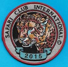 Pa Penna Game Fish Commission NEW Safari Club International 2015 Cheetah Patch