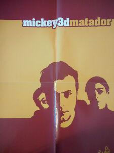 ▓ POSTER PROMO ▓ MICKEY 3D : MATADOR