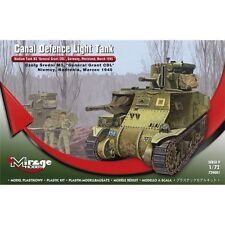* Mirage 729001 Canal Defence Light. Medium Tank M3  Scale Model 1:72