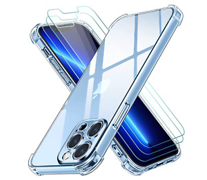 Case & Screen Protecter For iPhone 13 Mini PRO & MAX ,12 XR 11 7 8 PLUS Cover