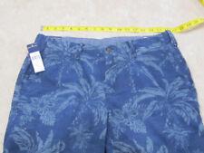 Polo Ralph Lauren Shorts Hawaii Linen Cotton Straight Fit Size 33 NWT $98