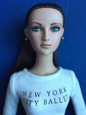 "Tonner Tyler 16"" 2006 NYCB REHEARSAL EMILIE BRUNETTE Dressed Doll No Box BW Body"