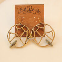 New Lucky Brand Bird Drop Earrings Best Gift Vintage Women Party Holiday Jewelry