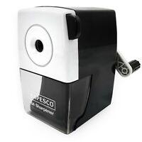 Rapesco 64 Manuel Bureau Taille-Crayon - 6mm Crayons - Noir