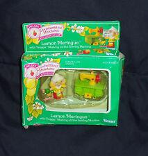 Strawberryland Miniatures Lemon Meringue w Frappe Working at the Sewing Machine