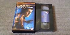 JAMES BOND 007 THE WORLD IS NOT ENOUGH MGM UK VHS VIDEO 2000 Pierce Brosnan NEW
