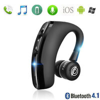 V9 Wireless Bluetooth 4.0 Headset Sports Ear-Hook Earphone Handsfree Universal
