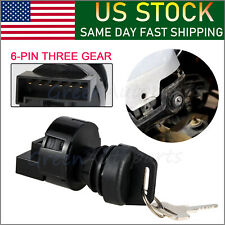 IGNITION KEY SWITCH For Polaris Sportsman 400 500 RZR XP 900  Ranger 3 Position