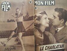 "MON FILM 1949 N° 126 "" LE CHARLATANN"" avec TYRONE POWER et COOLEN GRAY"