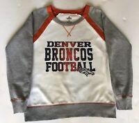 Authentic Majestic NFL Denver Broncos Football Sweatshirt
