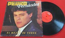 """Mariachi PEDRITO (Pedro) FERNANDEZ """"El Mejor De Todos"""" RARE 1985 Spain LP"""