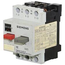 3VE1015-2E SIEMENS CIRCUIT BREAKER 0.4-0.63 AMP--SES