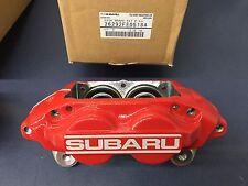 Genuine SUBARU WRX OEM RED Front 4 PISTON BRAKE CALIPER LEFT DRIVER 26292FE0518A