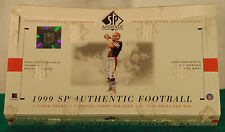 1999 SP Authentic Football Box--Factory Sealed--24 Packs