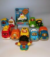 VTech Go! Go! Smart Wheels Cars & Friends Figure Lot of 11
