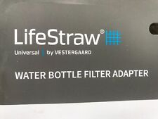LifeStraw Universal Water Filter Bottle Adapter Kit  2 Stage Free Shipping