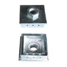 1x EZY-FIX ADJUSTABLE STUMP PLATE Certifications Nut M24 90mm x 90mm